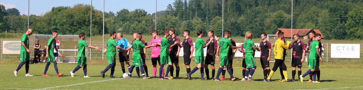 1. Runde OSC - Sporting Liebensdorf vs. FZC 1:3 (1:0)