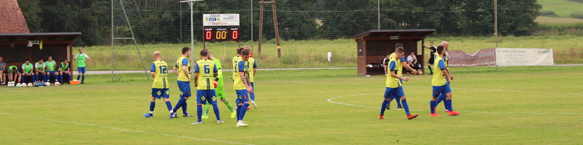2. Runde OSC - USG Berndorf vs. FZC 1:7 (1:5)